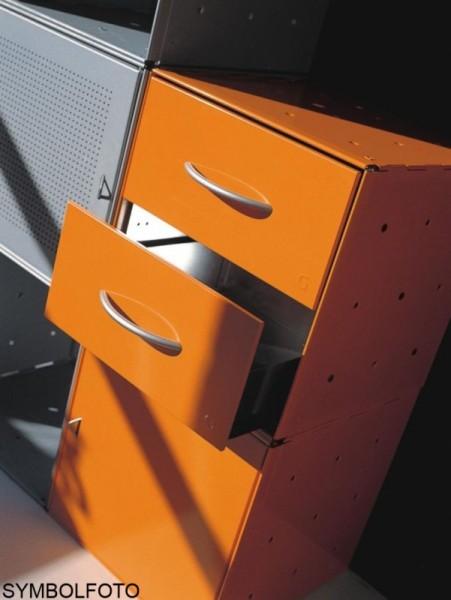 Graepel High Tech 2 Schubladen aus lackiertem Stahl für QBO Würfel Graepel Hightech 88041,88042,88044,88014,88015,88046,88047,88018,88011