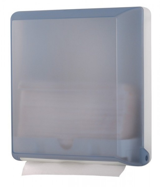 Papertowel dispenser MP707 made of plastic wall mounting in glass or transparent Marplast S.p.A. 707,707