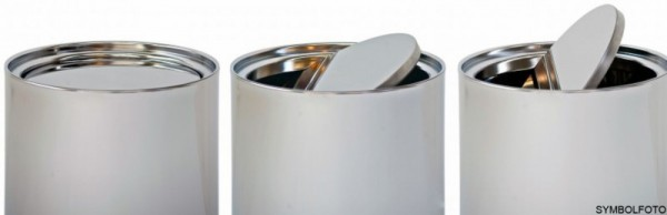 Graepel G-Line Pro Swinging Paperbasket 88 liters - brushed stainless steel G-line Pro K00035430