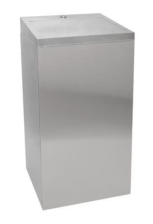 Franke Chromnickelstahl Abfallbehälter 30L mit selbstschließendem Klappdeckel Franke GmbH  RODX605SL