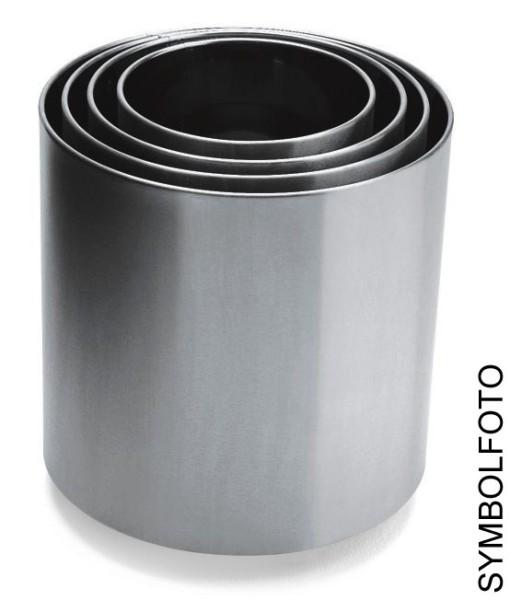Graepel G-Line Pro NAXOS Flower pots made of polished stainless steel, 6 sizes G-line Pro K00031510,K00031530,K00031550,K00031570,K00031590,K00031580