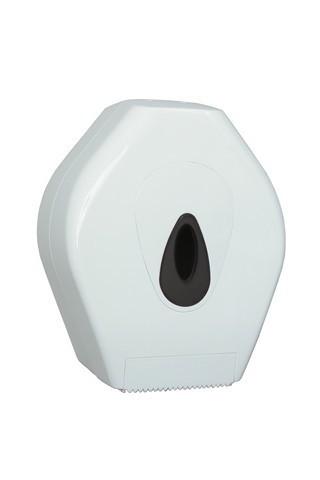 PlastiQline Mini Großrollenhalter aus weißem Kunststoff zur Wandmontage PlastiQ-line  5530