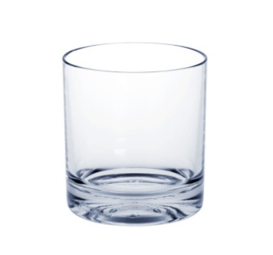 10 piece Whiskey-Glass SAN of Plastic with extra thick bottom Schorm GmbH 9057