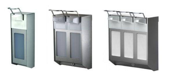Single-Double-Triple-Arm-Lever-Soap-Dispensers
