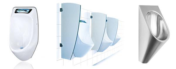 Wasserlose Urinale Urimat Franke