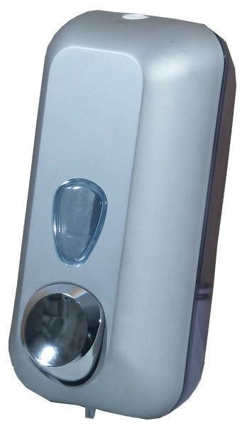 Seifenspender Chrom oder Satin 0,55 liter aus Kunststoff MP714