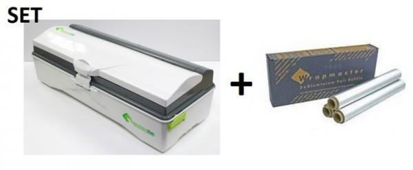 SET Efficient Wrapmaster duo dispenser for precise handling and aluminum foil 4500 Wrapmaster 63M50,23C89