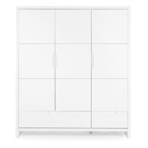 Childwood K3DQN 3-türiger Schrank mit 2 Laden Childhome  Quadro white