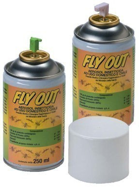 Fly Out Air Control Premium Insektizid 250ml EXTRA STRONG Fly OUT