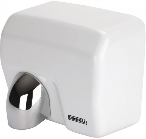 Casselin hand dryer 2500W with 360¡ pivoting nozzle - 2 versions - Infrared Casselin Farbe:Wei§ CB2BLANC,CB2INOX