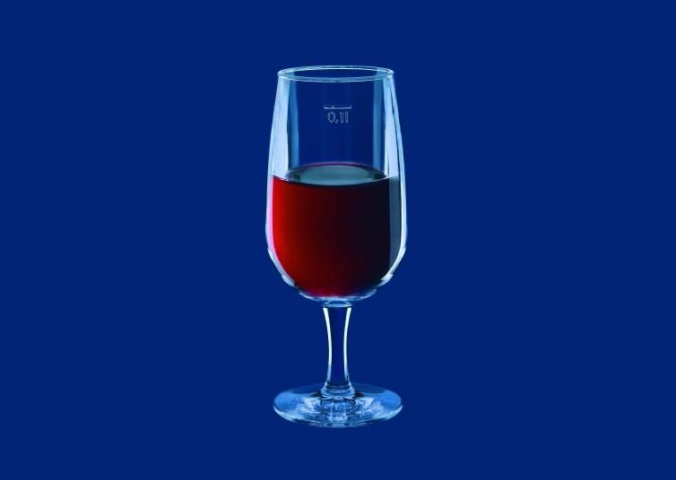 Weinglas 01l SAN Glasklar - Kunststoff
