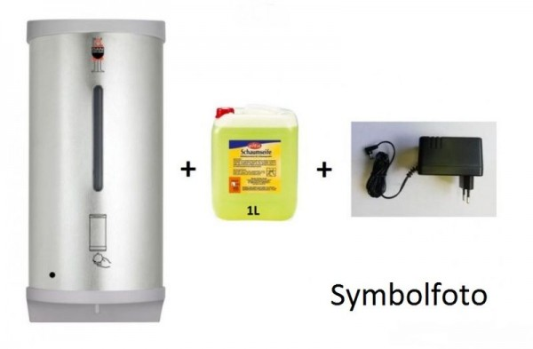 Set Dan Dryer touch free foam soap dispenser + adapter + 1L foam soap Dan Dryer A/S 846,10880,324/1