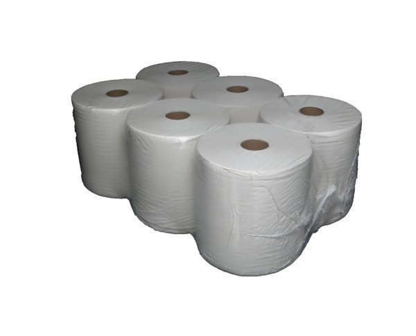 "Towel roll ""Easy Cut"" 2 layer, 140 m, cellulose, 6 rolls / box 12136"