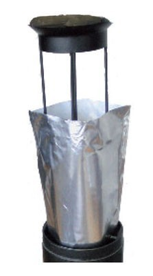 Aluminum bags for outdoor ashtray - Smokers side Prodifa saccendrier