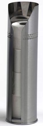 G-Line Pro hochwertiger Scopinox Ersatzrollenhalter fŸr Toilettenpapier aus Edelstahl 1.4016 gebŸrstet G-line Pro Scopinox Rollenhalter Edelstahl gebŸrstet