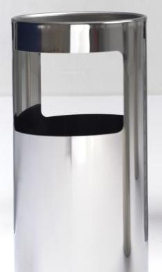 Graepel G-Line Pro LIVIGNO Design Standascher aus poliertem Edelstahl 1.4016 G-line Pro K00031920