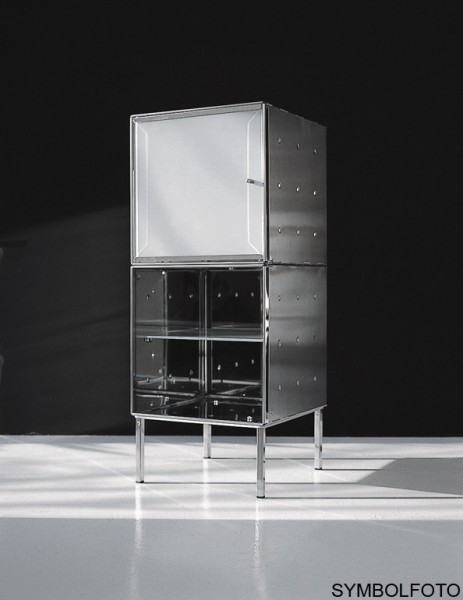 Graepel High Tech hochwertiger QBO base Würfel aus poliertem Edelstahl Graepel Hightech K00088110