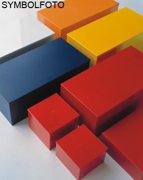 Graepel High Tech hochwertige Mini Color Box aus lackiertem Edelstahl Graepel Hightech  Mini Color Box