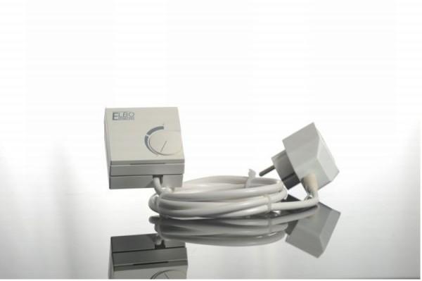 Elbo Therm Doppel Stecker Thermostat Zubehör für die Flachheizung Elbo therm Double plug thermostat