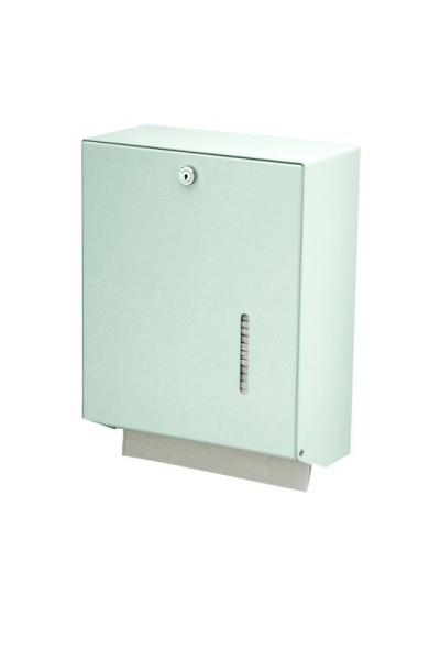 MediQo-line big lockable towel dispenser made of stainless steel or aluminium MediQo-line 8175,8180,8085