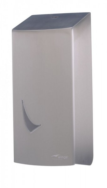 Wings toilet paper dispenser for single sheet withdrawal Wings 4142