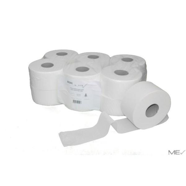 Jumbo Mini Toilettenpapier 12 Rollen - 140m 2 lagig - Zellstoff-weiß   Jumbo Mini 22101