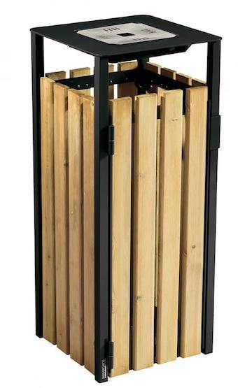 Rossignol Eden free standing or fixed bin 110L with ashtray Rossignol 56395,56396,56397