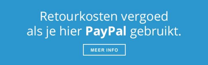Retourkosten door PayPal vergoed als je bij hygiene-shop.nl PayPal gebruikt