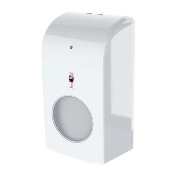 Dan Dryer EcoFoam Seifenspender für Schaumseife aus Kunststoff mit Sichtfenster