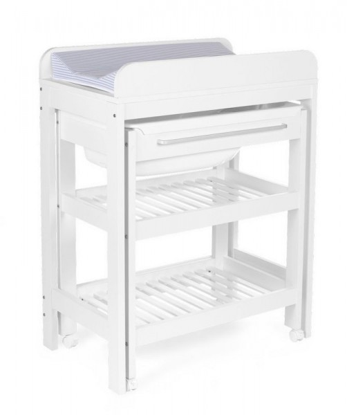 Changing table Childhome Tummy Tub - Bath included - with wheels Childhome CHTTB