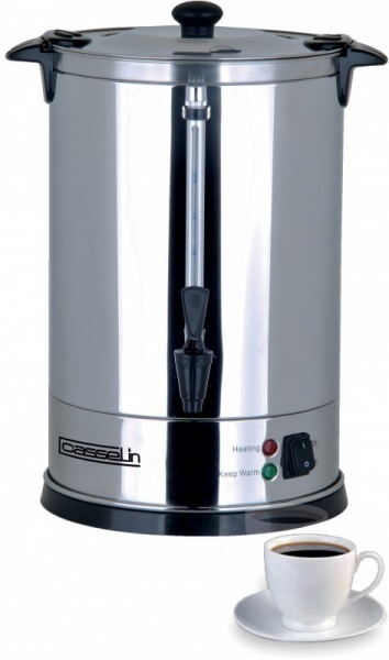 Casselin coffee percolator 6.8l in satinless steel - anti-burn Casselin CPC48