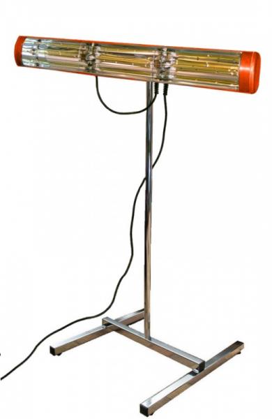 Heatlight mobiler Farb- Lacktrockner - Infrarot 2000W - Chrom Ständer inklusive Heatlight Infrarot  VLP15S,VLP15S-HLP