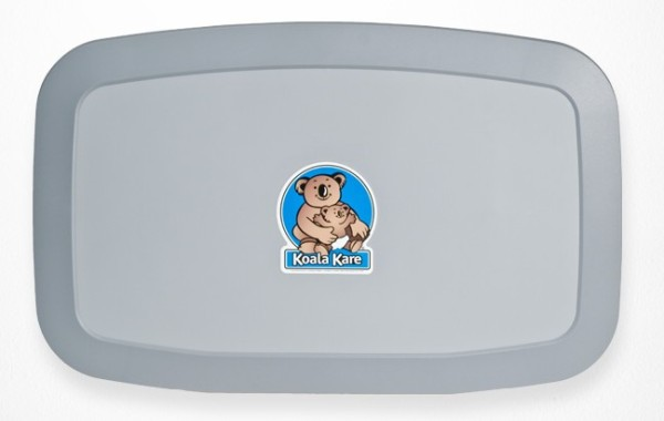 NEW Koala Baby Changingstation KB-200-01 Horizontal Grey with MICROBAN¨ Technology Koala Kare Products KB-200