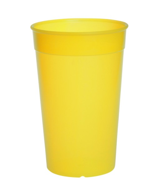 Plastic reusable cup colorful 0,2l - 0,5l light and versatile Schorm GmbH 9025