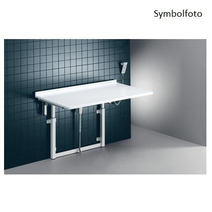 Pressalit white changing table 800x1800mm - with electric motor - max. 150 kg Pressalit R8723