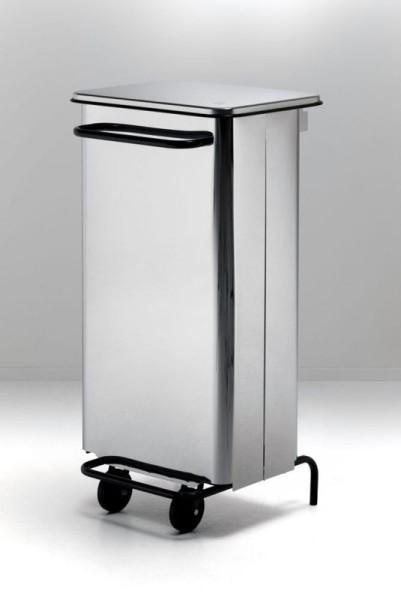 Graepel G-Line Pro Rettangola Pedal dustbin in 70 l or 110 l G-line Pro Rettangola Edelstahl poliert