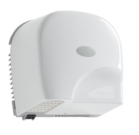 Rossignol Oleane horizontal automatic hand dryer in white 1950 watt Rossignol 52501
