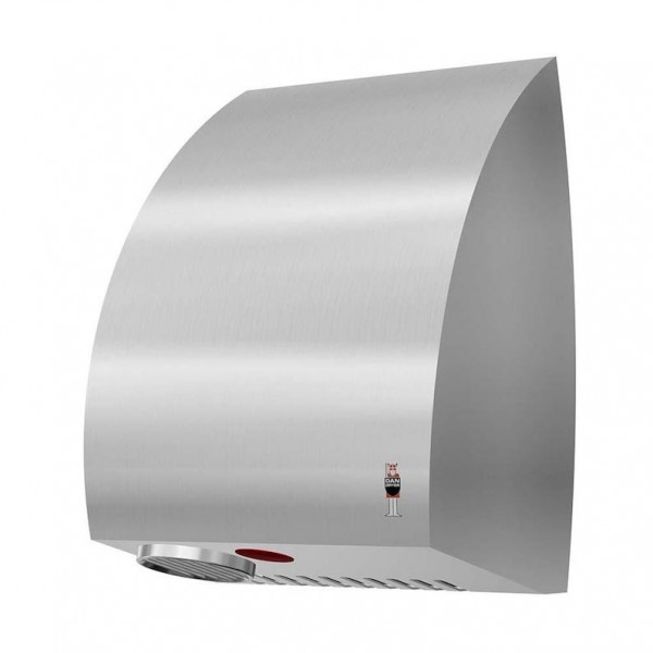 Dan Dryer AE hand dryer 2360W made of brushed stainless steel and with IR sensor Dan Dryer A/S 280