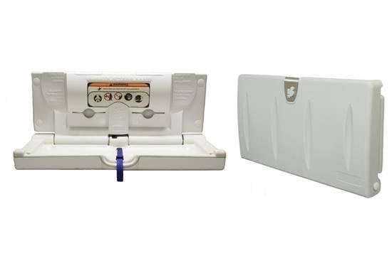 Sicherheitswickeltisch aus Kunststoff Horizontal 100EH