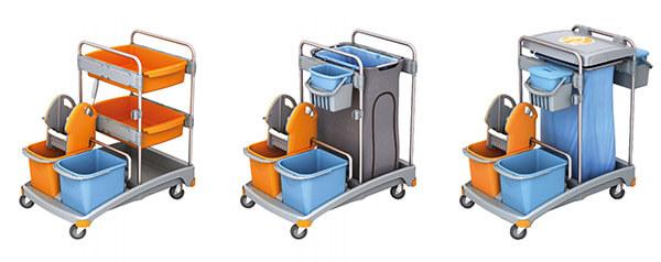 Reinigungswagen für Industrie, Hotel, Schule