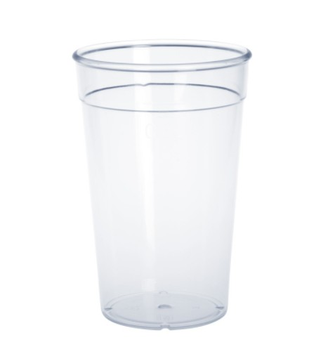 Plastic reusable-cup crystal clear 0,2l - 0,5l PC stackable Schorm GmbH 9015,9017,9019,9021,9023