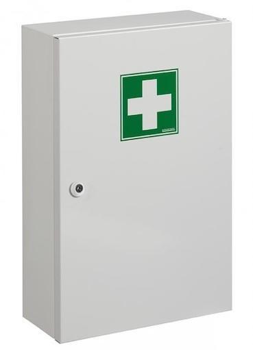 Rossignol Clinix medicine cabinet from epoxy powder coated steel with 1 door Rossignol 11649