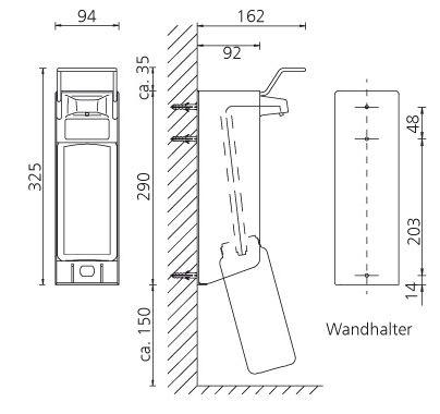 ophardt ingo man classic tw 23 a tv 23 a seifenspender 1000ml hygieneartikel hygienespender. Black Bedroom Furniture Sets. Home Design Ideas